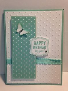 Label Love, Birthday Card, Stampin' Up!, Rubber Stamping, Handmade Cards, Stamp Camp Cards, Make n Take Cards