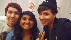 Bless the girl who got them to wear beanies<<DANS EYES<<omg I've seen dan in a beanie before but not phil feels