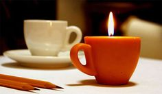 The teacup candle... would be perfect if it had a hot chocolate or cappuccino scent too!