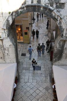 Split, Dioklecijanova palača, Hrvatska (Diocletian's Palace, Croatia)