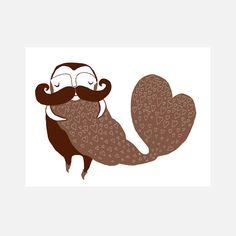 Beard Full of Love  by Laura George