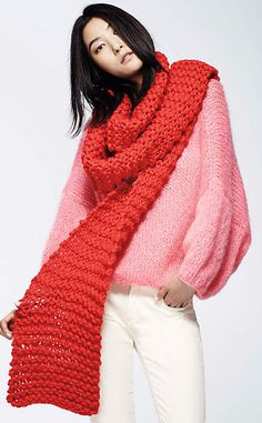 Snow Day Scarf #anthroregistry