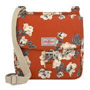 Crescent Rose Tab Saddle Bag