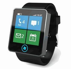 New Microsoft Smartwatch prototype is finished. This is a mockup of how it could look like (hope the design gets better)