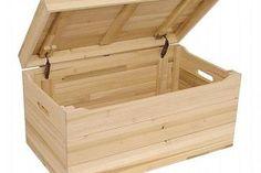 DIY Bench Seat Toy Box (13 Steps) | eHow