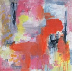 abstract expressionist painting archival print by kelly witmer