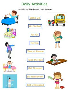 Daily Routine Worksheet, Daily Routine Activities, Kids English, English Lessons, Copy Ads, Worksheets For Grade 3, Amazon Affiliate Marketing, Do Homework, Interactive Activities