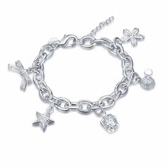 YUEYIN® Star Flower Crown Bow Knot Pendant Bracelet Fashion Jewelry  Necklaces ba5ea7658a2c
