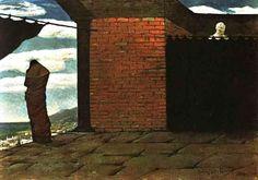 """Giorgio de Chirico, """"El enigma del oráculo"""", 1910. Col. particular (Italia)"""