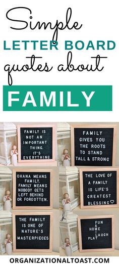 Check out these inspirational quotes about family. These positive quotes about love and sticking together are kid friendly and perfect for your favorite letter board! Love Children Quotes, Quotes For Kids, Family Quotes, Word Board, Quote Board, Message Board, Positive Quotes About Love, Positive Thoughts, Sign Quotes
