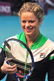 A truly great player, a wonderful person and an inspiration to moms everywhere, Kim Clijsters tennis superstar from Belgium
