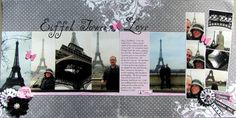 Eiffel Tower Love - Scrapbook.com