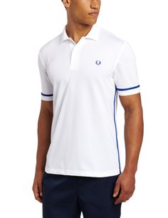 Fred Perry Men's Taped Tennis Polo  95% Nylon/5% Elastane Dry Clean Only Taped
