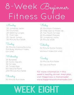 Beginner Fitness Jumpstart: Week 8 - Happiness is Homemade