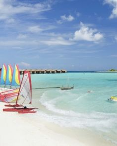 Anantara Dhigu Resort & Spa  ( Male, Maldives )  For more active types, there are water sports aplenty, from snorkeling to sailing. #Jetsetter