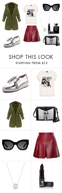 """work song."" by lucyintheskywthdiamonds ❤ liked on Polyvore featuring Loeffler Randall, Carianne Moore, Karen Walker, Proenza Schouler, Manic Panic, women's clothing, women's fashion, women, female and woman"