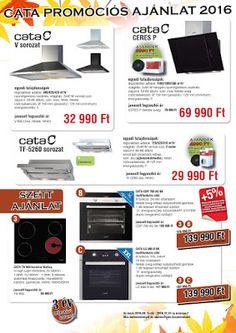 Olcsó konyha -akciók a konyhában - konyhai outlet: CATA beépíthető konyhai gép…