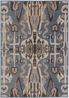 Surya MAV7010 Mavrick Blue Rectangle Area Rug