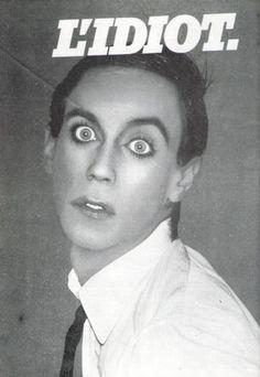 """iggy Pop's """"The Idiot"""": The best album of the mid '70's. Amen. youtubemusicsucks.com #iggypop"""
