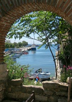 Looking out the Black Sea - Nessebar, Bulgaria