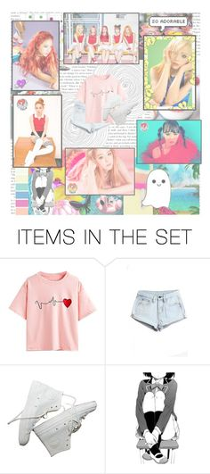 """""""Russian Roulette """" by emolu7 ❤ liked on Polyvore featuring art, redvelvet and russianroulette"""