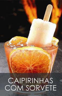 Já alguma vez experimentou as ultimas inovações em caipirinha. Caipifrutas com uma explosão de sabor incrível e acompanhadas pelos refrescantes gelados de sabor a fruta( Picolés) . experimentem não se vão arrepender.