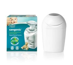 Tommee Tippee Sangenic Nappy Disposal Tub SAVE 60% was £24.99 NOW £10