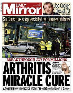Daily Mirror - 23.12.14