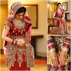 gorgeous traditional indian bride