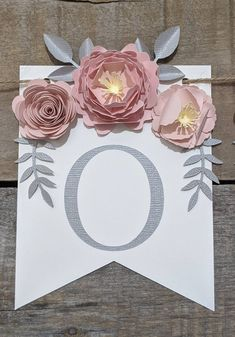 Personalized paper flower garland with blush peonies Pink and | Etsy 3d Paper Flowers, Paper Flower Garlands, Paper Leaves, Paper Flower Backdrop, Fake Flowers, Pink And Gray Nursery, Blush Peonies, Floral Banners, New Baby Products