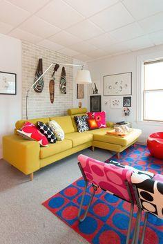 House Tour: A Bold Maximalist Massachusetts Rental | Apartment Therapy