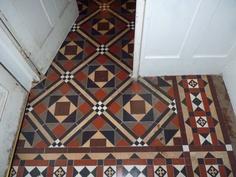 more edwardian floor tiles