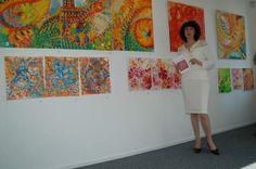 Jasmina Vladimirova, Exposition de Peintures à l'Huile sur toile à Roterdam Pays-Bas,Corps Diplômatique, 2005