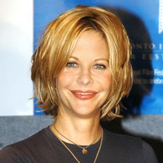 Meg Ryan's Changing Looks - 2003 from InStyle.com
