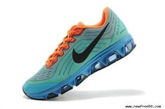 new product 7f10b 2ac73 Sport Turquoise Black Orange Mens Shoes Nike Air Max Tailwind 6
