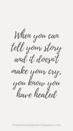 Inspirational Quote about Life, Strength and Moving On - Visit us at InspirationalQuotesMagazine.com for the best inspirational quotes!
