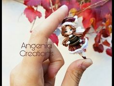 tutorial: mini Christmas angel/fairy