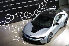 New BMW i8 plug-in hybrid sports car delivered