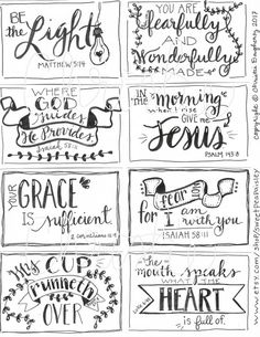 Holy Bible, Journal Edition – Bible Journaling Made Simple Scripture Cards, Printable Scripture, Encouragement Scripture, Scripture Lettering, Bible Verse Signs, Prayer Cards, Bible Art, Bible Quotes, Inspirational Quotes