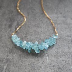 santa maria blue beryl pendant sky Aqua marine March birthstone jewelry chain Christmas gift stone PEAR briolette gold plated necklace