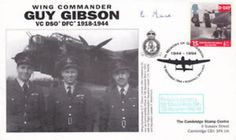 Wg Cdr G.P.Gibson VC Cover Signed E Mace 106 Sqn 1942 – 43