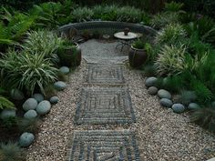 Jeffrey Bale a landscape artist from Portland Oregon, creates not only one of a kind mosaics, but gardens befitting any Boho-Chic lo...