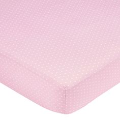 Sweet JoJo Designs Pink Mini Dot Fitted Crib Sheet - Overstock™ Shopping - Big Discounts on Sweet Jojo Designs Baby Bed Sheets