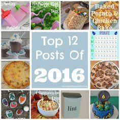 Top 12 Posts of 2016