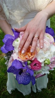 Wedding bouquet/ring