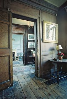 Lovely weathered rooms