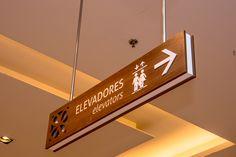#Wayfinding- #ceilingsign -#shoppingriopoty - Brazil#brazilian design…