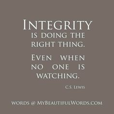 Quotes About Integrity Pinpokerface On Quotes On Life & Selfawareness  Pinterest