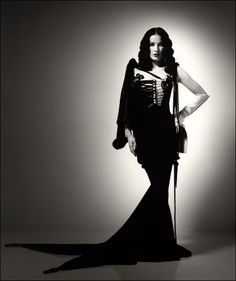 Dita Von Teese in Jean Paul Gaultier.     Does anything else really need to be said beyond that?