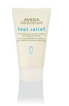 Aveda foot relief - smells really yummy and cruelty free!
